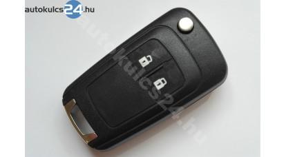 Opel kétgombos bicskakulcs 433Mhz ID46