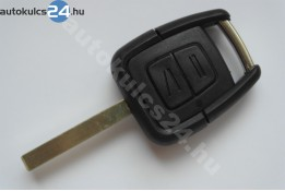 Opel kétgombos kulcsház HU100