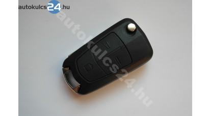 Opel Vectra C bicskakulcs 433Mhz ID46 3 gombos