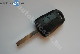 Opel 2 gombos kulcs PCF7941 (Hitag 2) 434mhz