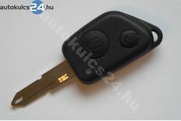 Peugeot kétgombos kulcsház