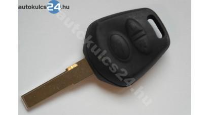 Porsche három gombos kulcsház
