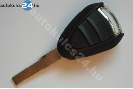 Porsche 3 gombos kulcsház