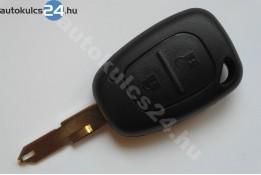 Renault kulcsház 2 gombos lyukas penge