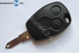 Renault kulcsház három gombos