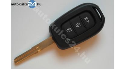 Renault kulcsház 3 gombos újabb