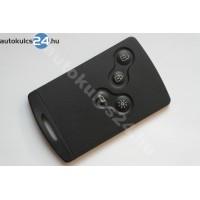 Renault 4 gombos kártya PCF7953M HITAG AES 433.9Mhz smart keyless
