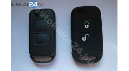 Mercedes 2 gombos bicskakulcs szilikontok