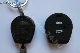 VW/Audi/Seat/Skoda 2 gombos kulcs szilikontok