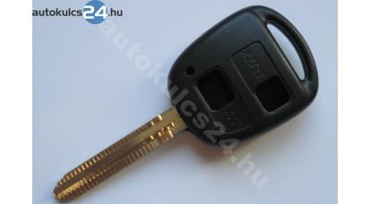 Toyota kulcsház 2 gombos TOY43
