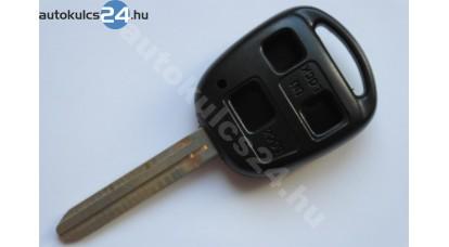 Toyota kulcsház 3 gombos TOY43