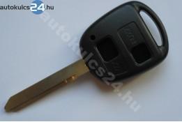 Toyota kulcsház 2 gombos TOY47