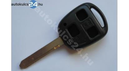 Toyota kulcsház 3 gombos TOY47