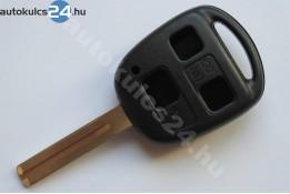 Lexus kulcsház 3 gombos TOY48 rövid