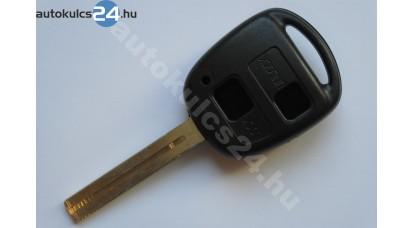 Toyota kulcsház 2 gombos TOY40 hosszú