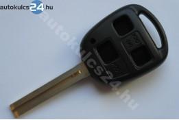 Toyota kulcsház 3 gombos TOY40 hosszú
