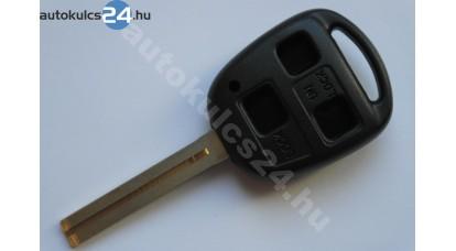 Lexus kulcsház 3 gombos TOY40 hosszú