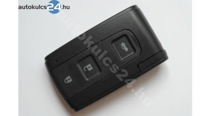 Toyota bedugos kulcsház