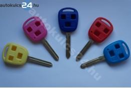 Toyota kulcsház 3 gombos TOY43 színes