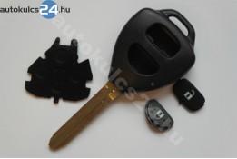 Toyota 2 gombos kulcsház #3