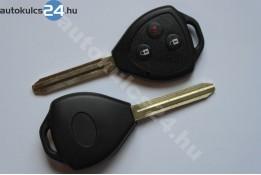 Toyota 3 gombos kulcsház TOY43