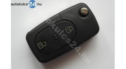 Volkswagen 2 gombos bicskakulcs ovális panic gomb nélkül
