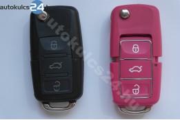 Volkswagen 3 gombos bicskakulcs vízálló rózsaszín