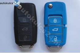 Volkswagen 3 gombos bicskakulcs vízálló kék