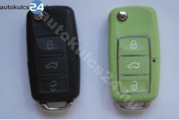 Volkswagen 3 gombos bicskakulcs vízálló zöld