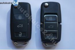 Volkswagen 3 gombos bicskakulcs vízálló fekete