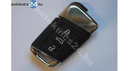 Volkswagen 3 gombos kulcs 433Mhz MQB szabadkezes